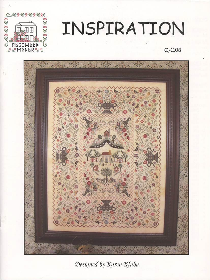 ABC Tapestry Sampler Rosewood Manor Kluba Cross Stitch Pattern